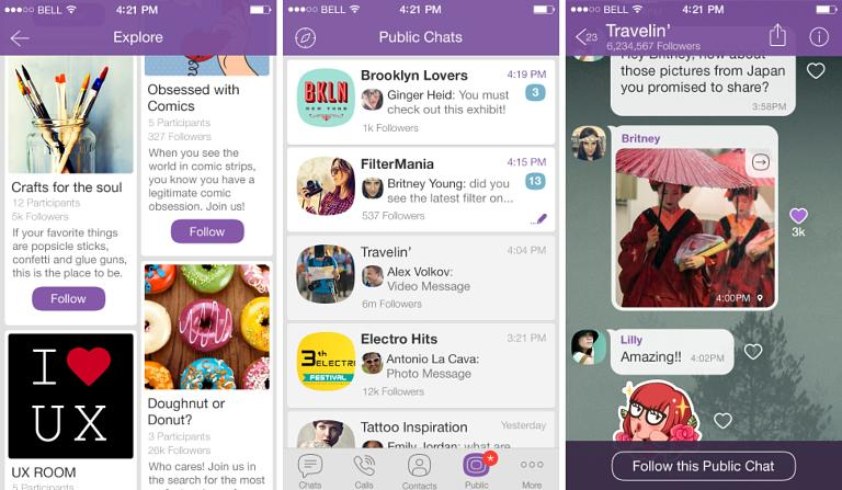 messengers in ecommerce business best practices of bramds in Viber Public Chats