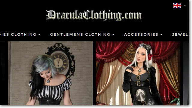 Dracula Clothing – Magento Upgrade & Optimization Project